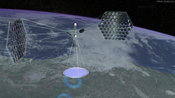Космическая солнечная электростанция