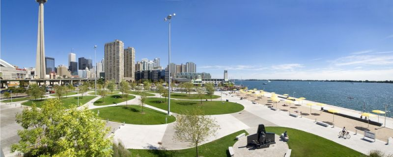 Панорама восточной части Парка HtO