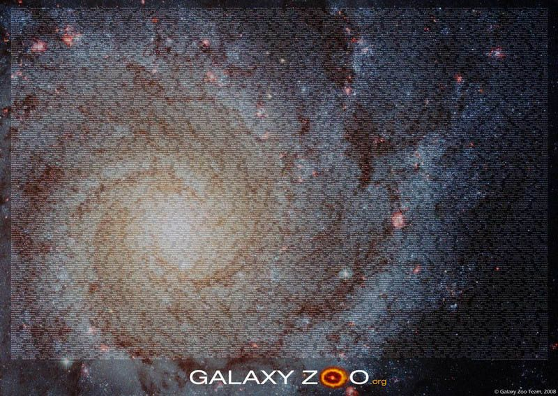 Galaxy Zoo - проект классификации объектов далекого космоса