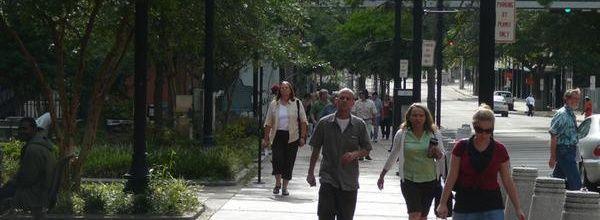 Пешеходные зоны - залог социальной активности и хорошего настроения горожан