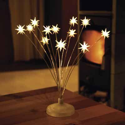 Светодиодные украшения можно ипользовать не только на новогодние праздники