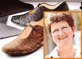 Туфли из коры могут выглядеть элегантно