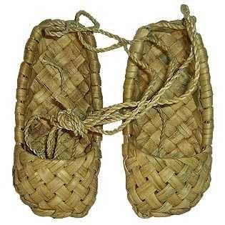 Лапти: настоящая эко-обувь наших предков