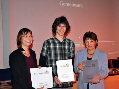 Самый младший призер конкурса - ученик гимназии, снявший фильм о возможностях повседневной защиты климата
