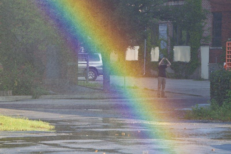 Рукотворная радуга
