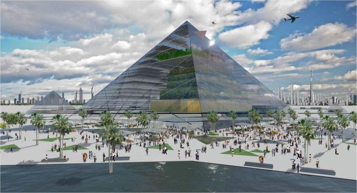 Проект «Ферма-Пирамида» Эрика Эллингсена и Диксона Деспомъера