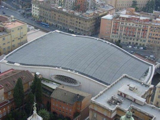 Солнечные батареи в Ватикане