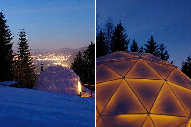 Геодезический купол – комфорт, надежность, экологичность