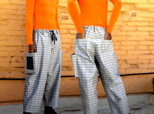 Go Urban - брюки с фотогальваническими панелями