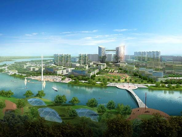 Эко-сити Тяньцзинь