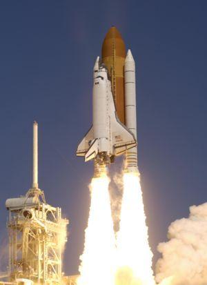 Запуск шаттла Atlantis