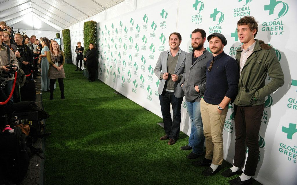 Музыкальная группа Portugal на 8й ежегодной зеленой вечеринке Global Green USA's Pre-Oscar Party 2011