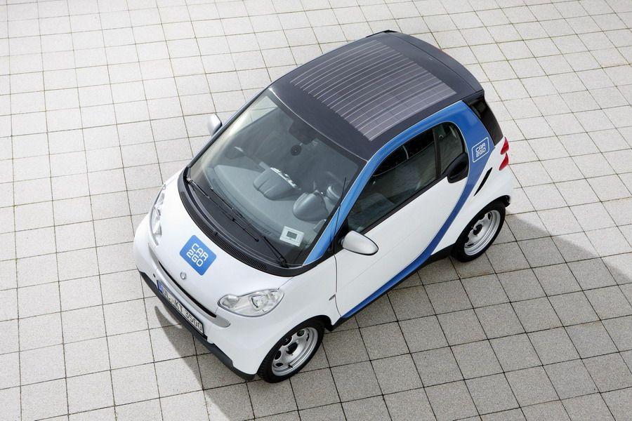Программа совместного использования и проката автомобилей Car2go - в Остине авто оснащены солнечными панелями на крыше
