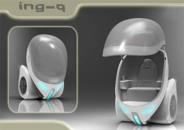Концепт электромобиля Ing-Q