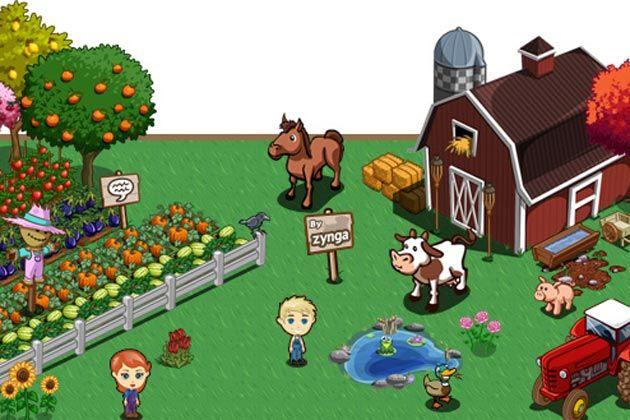 Социальная игра Farmville