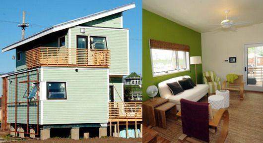 Проект зеленых домов для Нового Орлеана (Брэд Питт)