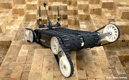 робот-спасатель Quince