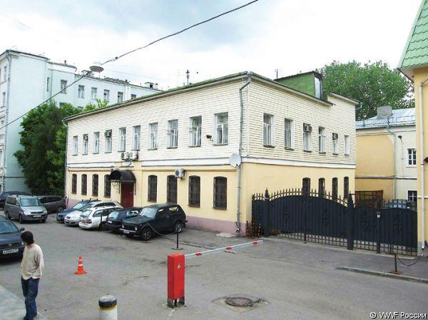 Обветшалое здание офиса до реконструкции