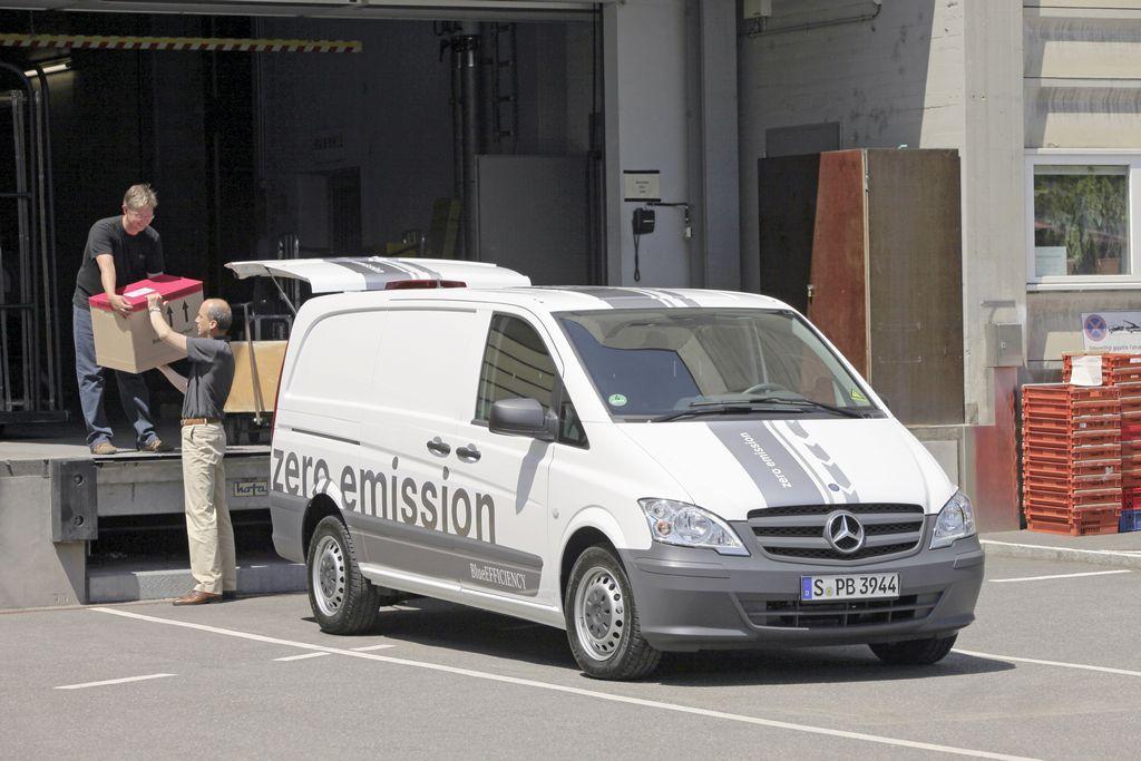 Vito E-CELL соответствует всем требованиям, предъявляемым к малотоннажным фургонам