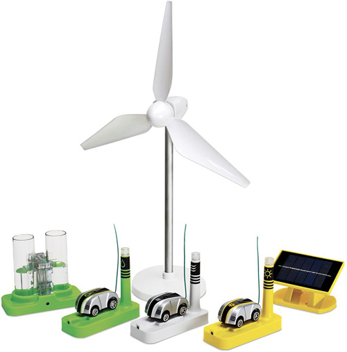 The Renewable Energy Racers Set