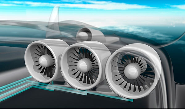 E-Thrust-turbines